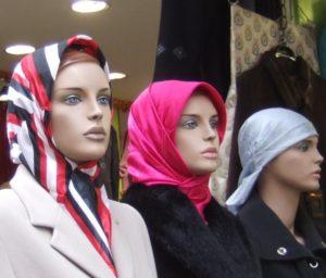 Schaufensterpuppen in Ankara